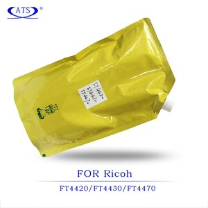 1KG Black Toner Powder for Ricoh FT 4420 4430 4470 compatible Copier spare parts FT4420 FT4430 FT4470