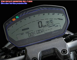 Película de proteção de mesa km para ducati monster 821 1200 película protetora resistente ao desgaste anti-ultravioleta anti-luz azul