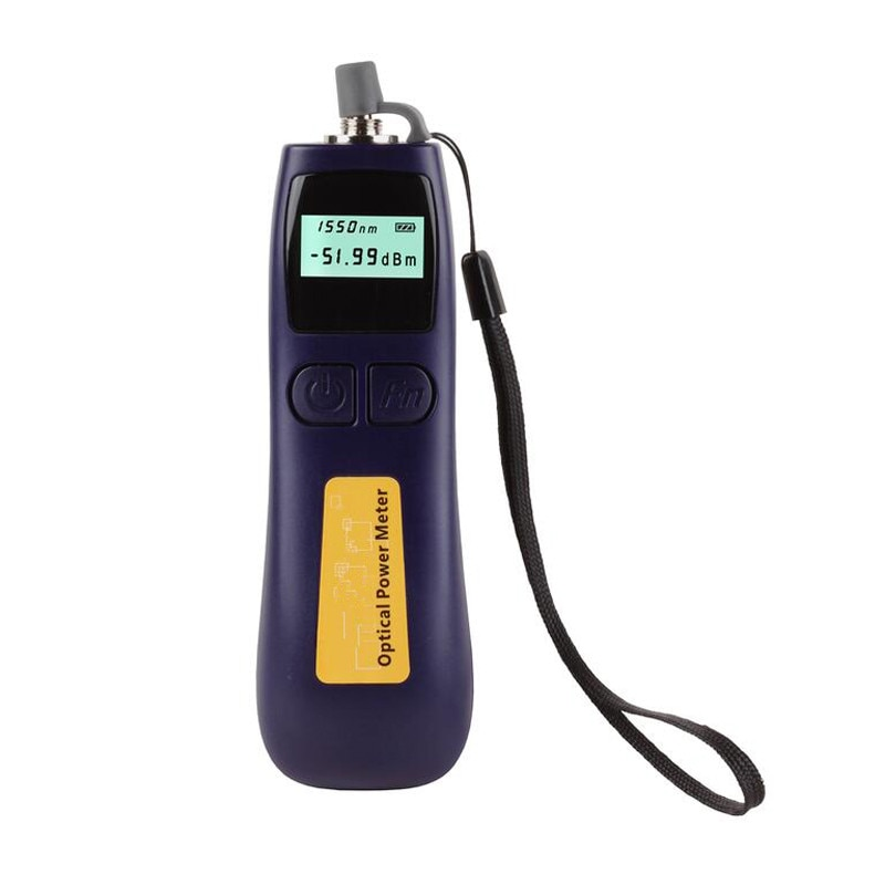 Medidor de potencia óptica de fibra Digital, telecomunicación-70 ~ + 10dBm @ 1550nm, medidor de frecuencia, medidor de potencia óptica de alta precisión
