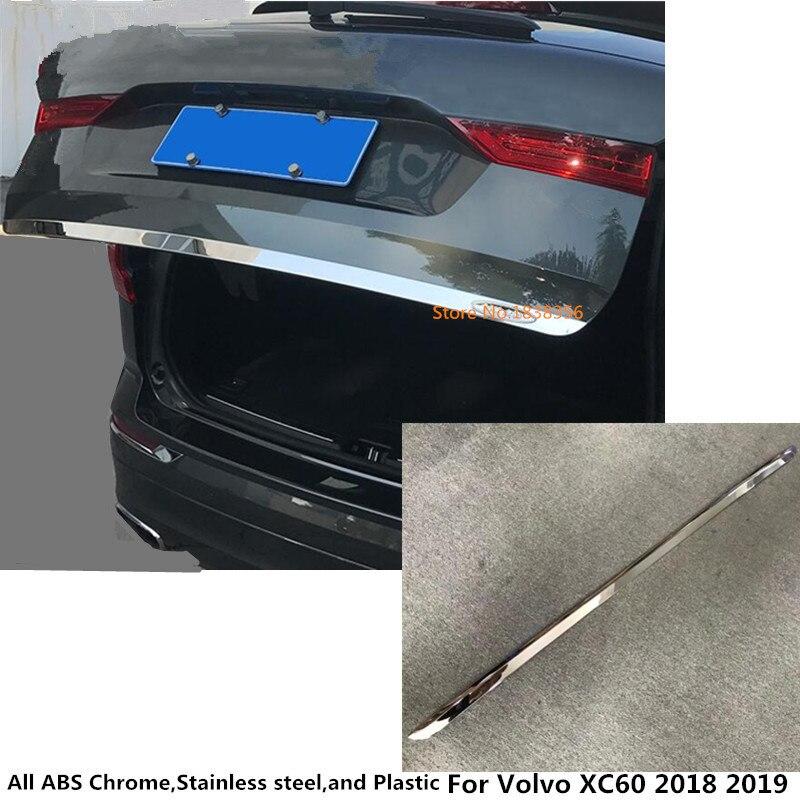 Para Volvo XC60 2018 2019 2020 cuerpo del palillo del coche para maletero embellecedor de bastidor maletero 1 Uds accesorio