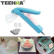 TEENRA 1 pièces/ensemble de buses   Ensemble de stylos glacés décoratifs, pointes de glaçage et de tuyauterie, sac pour stylo à pâtisserie, outils de décoration de gâteaux