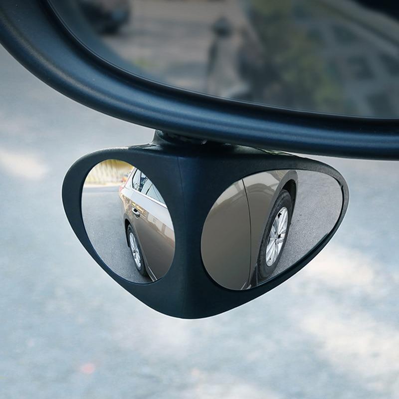 2 In 1 Car Blind Spot Mirror Wide Angle Mirror For Skoda Superb Octavia A7 A5 2 Fabia Rapid Yeti Citroen C4 C5 C3 Grand Picasso