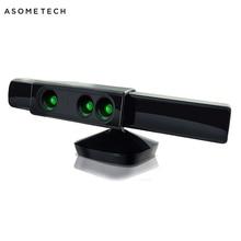 Xbox 360 kinect 센서 용 줌 microsoft xbox 360 비디오 게임 운동 센서 용 광각 렌즈 센서 범위 감소 어댑터