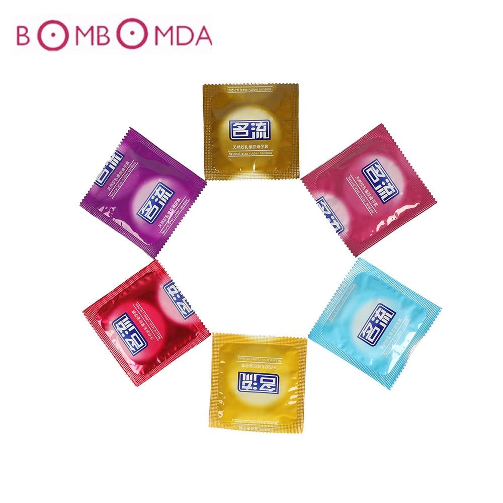 Préservatifs Ultra minces pour hommes Extra sûrs Super lubrification Latex adulte produit sexuel Latex naturel Contraception plus sûre manchon de pénis