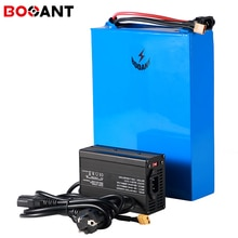 Batería de bicicleta eléctrica 48V 33AH 1800W recargable 3,2 V 15S 48V LiFePo4 Paquete de batería de litio + 5A cargador 50A BMS envío gratis