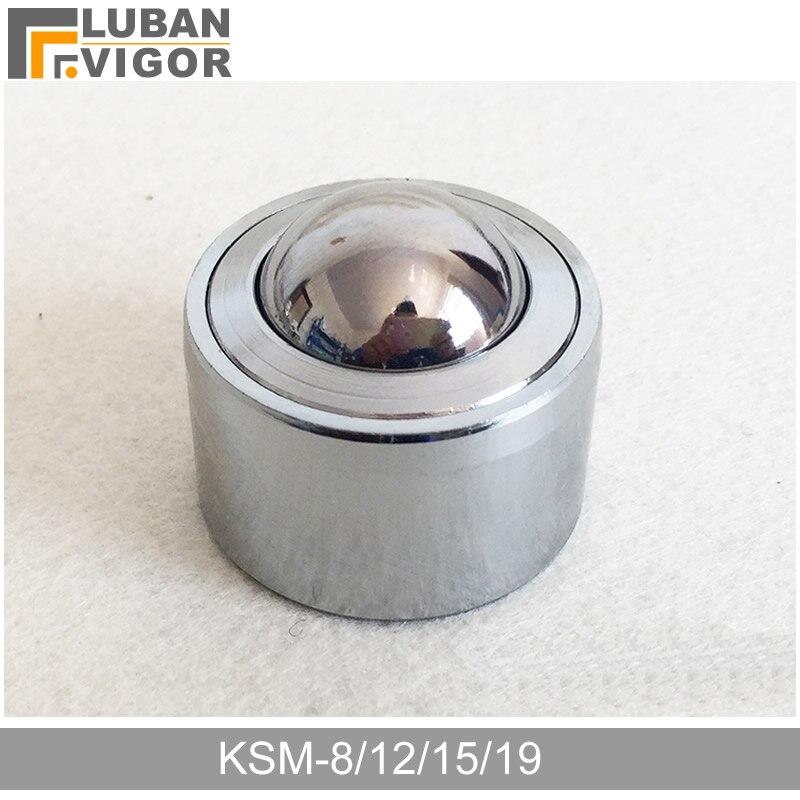 Tomadas de fábrica KSM-8/12/15/19 rodízios universais do rolamento de esferas da precisão/roda, linha interna, transmissão systemfurniture roda