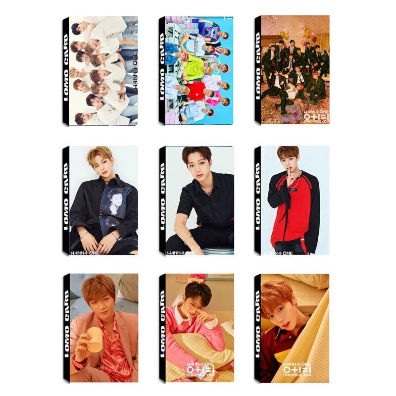 Youcp KPOP quiero uno PROMISE YOU JIHOON Daniel álbum LOMO tarjetas K-POP nueva moda papel hecho a sí mismo foto tarjeta Photocard LK546