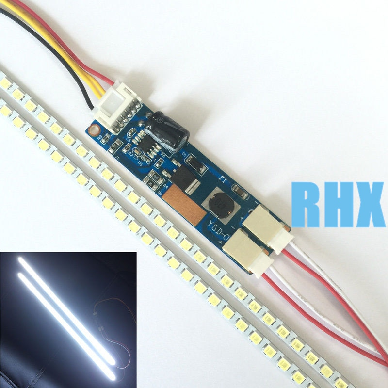 5Pieces/lot Adjustable lighting full-size LCD refit LED kit LCD 17192224 LED strip is used below 15