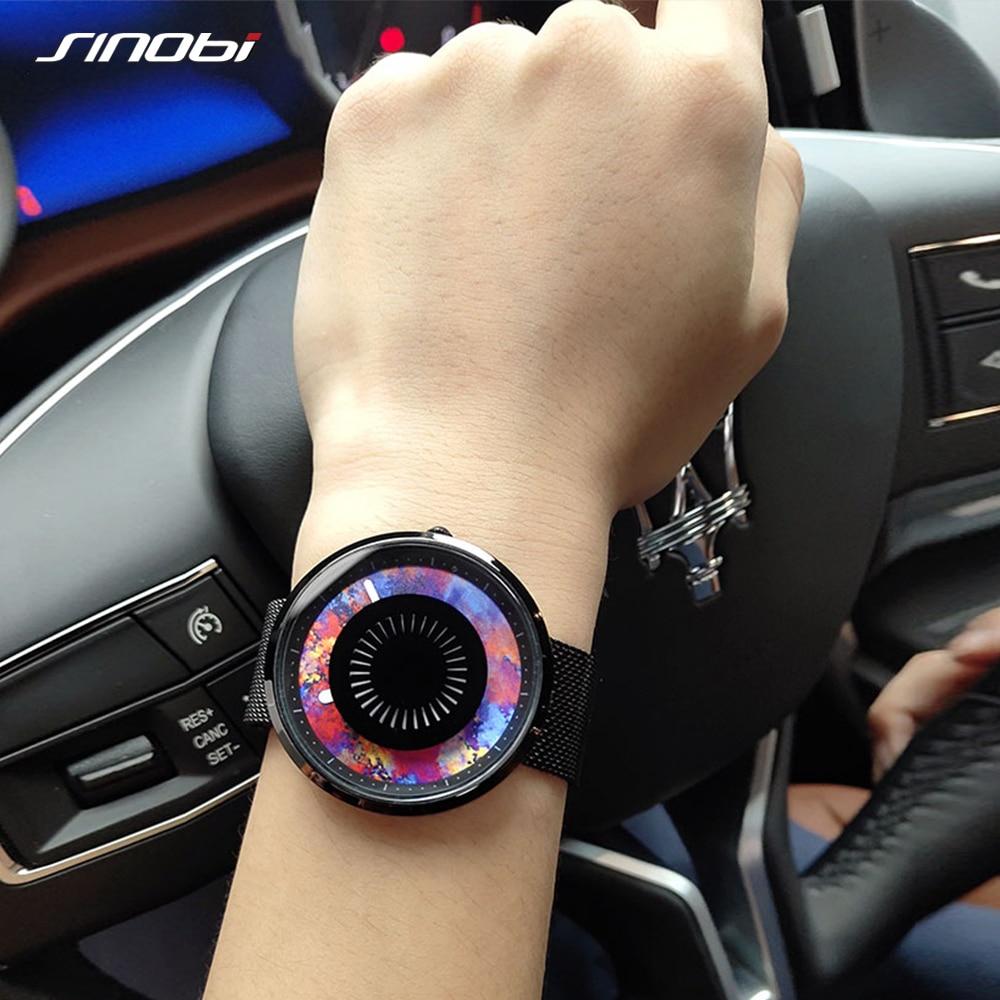 SINOBI Top Popular Women Watches Genuine camouflage Cool Waterproof Fashion Watches Imported Quartz Girl Ladies Watches relojes enlarge