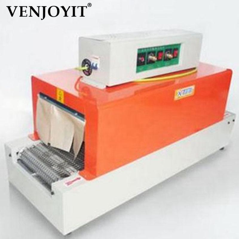 Túneles de máquina de embalaje termorretráctil de 3 KW para piezas de herramientas PP/POF/PVC