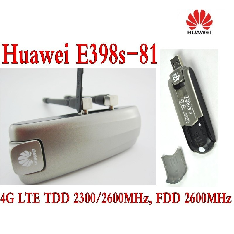 HUAWEI e398 e398s-81 4g lte td-lte plus 2pcs antenna ( 90% new)