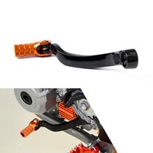 CNC pointe pliante forgé levier de vitesse manette de vitesse pédale pour KTM 125 150 200 250 300 350 450 505 SX XC SXF XCF XCW EXC XCFW EXCF MXC