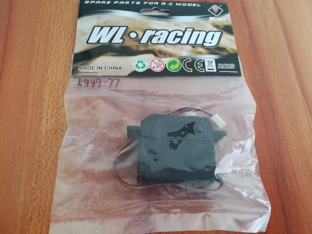 WL Wltoys K949 10428 10428-A 10428-B 10428-C Rc coche 4wd 1/10 potencia eléctrica en derrape en carretera carreras K949-77 servo