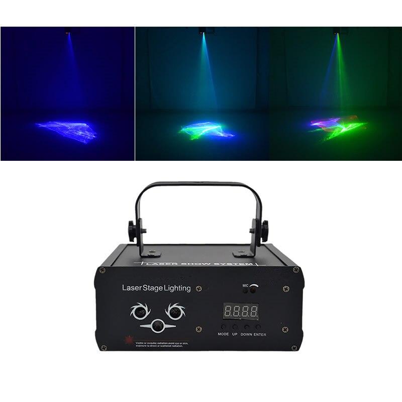 Sharelife-جهاز عرض ضوئي ليزر منوم مع صوت أوتوماتيكي ، مصباح led صغير مع DMX RGB Gobos Mix ، DJ-518