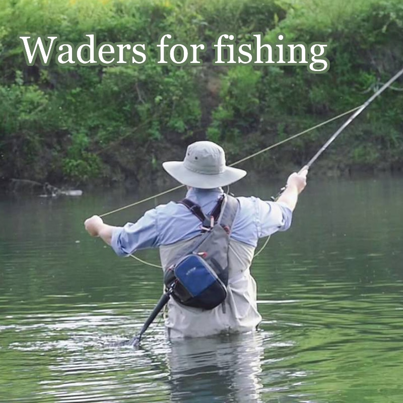 Men's Fishing Waders-3Ply Durable Breathable with Neoprene Stocking Foot Insulated Waterproof Pant for Duck Hunting Fly Fishing enlarge