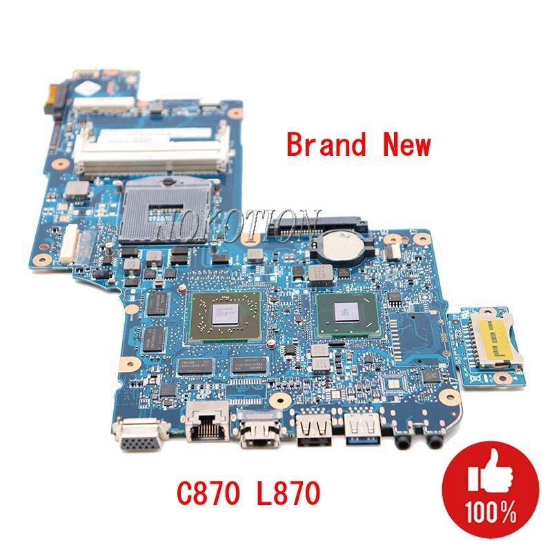 NOKOTION nuevo H000052840 Tablero Principal para Toshiba Satellite C870 L870 L875 placa base de computadora portátil PGA988B SLJ8E HM76 HD7610M