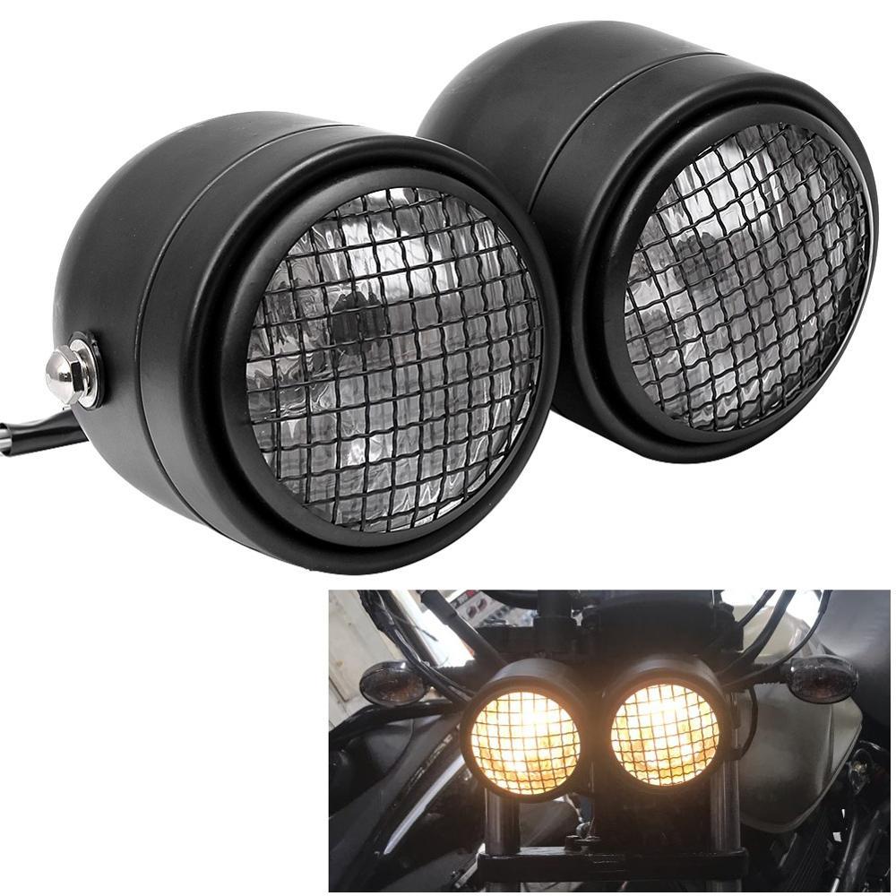 Двойной налобный фонарь для мотоцикла