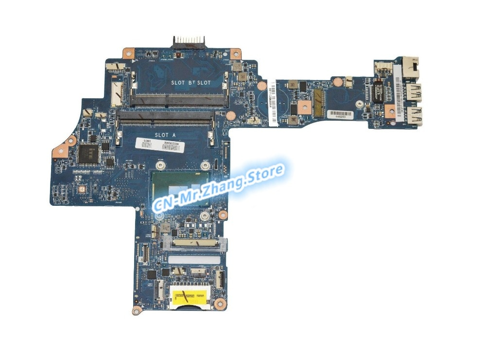 SHELI لتوشيبا E45T-B E45T-B4100 اللوحة المحمول W/ I5-5200U CPU 69N0VPM59A H000080910 DDR3