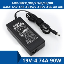 Câble de Port de connecteur de chargeur de cc dadaptateur à ca dordinateur portable pour ASUS ADP-90CD/DB/YD/B/SB/BB A46C A52 A53 A53S/V A55V A56 A8 A8J