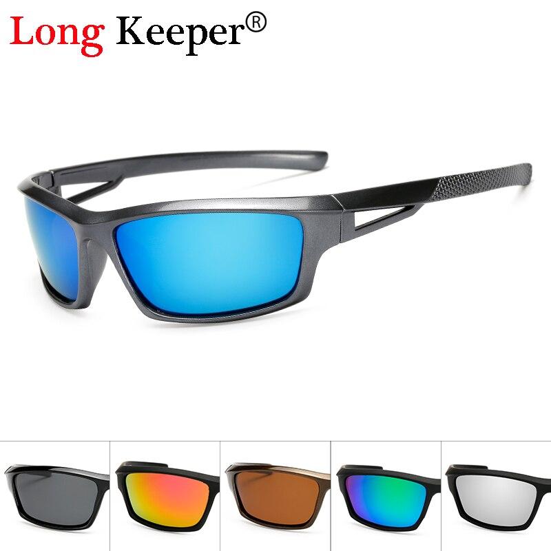 Long Keeper Fashion Men Polarized Sunglasses Stylish Sun Glasses Male 100% UV400 Polarised Driving G