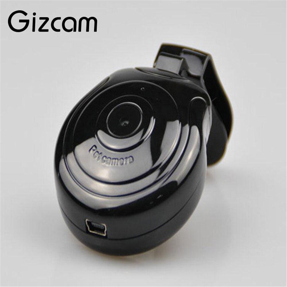 Gizcam perros cachorro Digital negro mascotas Collar HD 480P cámara Video grabadora Monitor DVR Mini cámaras