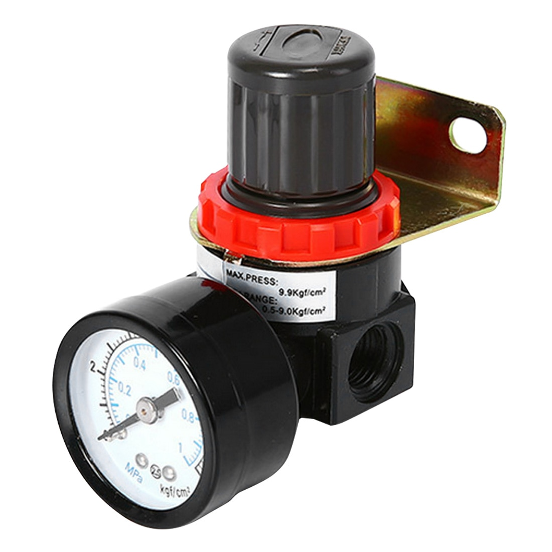 Pressure Relief Regulator Valve with Fitting AR2000 G1/4'' 12mm Regulator Valve Pressure Regulator Valve  Air Control Compressor