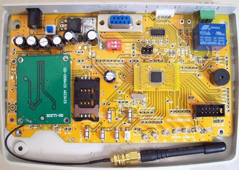 SIM900A  NuMicro M051 M0516 Cortex-M0 Development board Nu-Link emulator