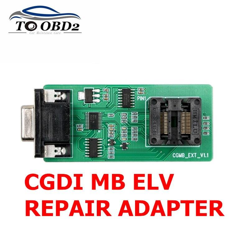 Venda quente 100% Original Adaptador De Reparação para CGDI ELV MB Programador Chave para o Benz Ferramenta CGDI ELV REPARAÇÃO ADAPTADOR LIVRE NAVIO