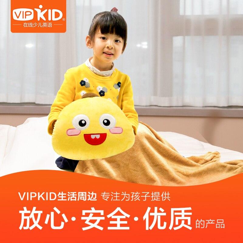 VIPKID X-وسادة متعددة الوظائف لتدفئة اليد ، وسادة ، بطانية تكييف الهواء 3 في 1