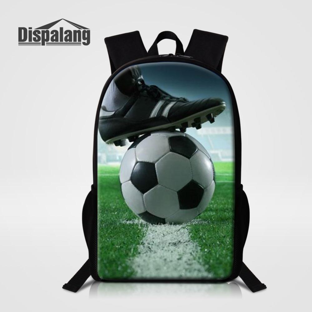 Mochila escolar Dispalang Softball Soccers, mochila de viaje informal, mochila de estudiante con estampado de pelota, mochila escolar, mochila para hombre Rugzak