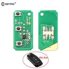 KEYYOU 433 МГц 3 кнопки пульт дистанционного управления электронная плата для Ford Focus 2 3 Mondeo Fiesta C Max S Max Galaxy
