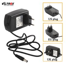 Viltrox 2M 100 V-240 V AC/DC Adaptador convertidor 12V 2A fuente de alimentación enchufe EU US enchufe UK enchufe para Monitor de luz LED visor