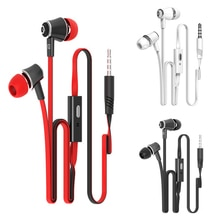 Langsdom JM21 écouteurs stéréo 3.5 MM écouteurs intra-auriculaires Super basse casque mains libres avec micro pour Huawei xiaomi Galaxy s6 UM