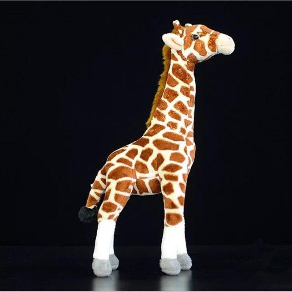 BOLAFYNIA Neue art giraffe deer Baby Kind Plüsch Spielzeug für Weihnachten Geburtstag Geschenk Kinder Plüsch Spielzeug 35cm höhe