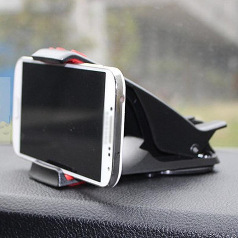 Universal Soporte de teléfono para salpicadero de coche montaje cuna Soporte Movil Soporte celular carro para iPhone 6 6S 7 7 8 Plus X para S8 S9