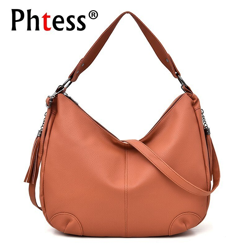Women Leather Handbags High Quality Female Shoulder Bag Vintage Hand Bags Ladies Sac A Main Casual Tote Bag For Girls Bolsas Sac