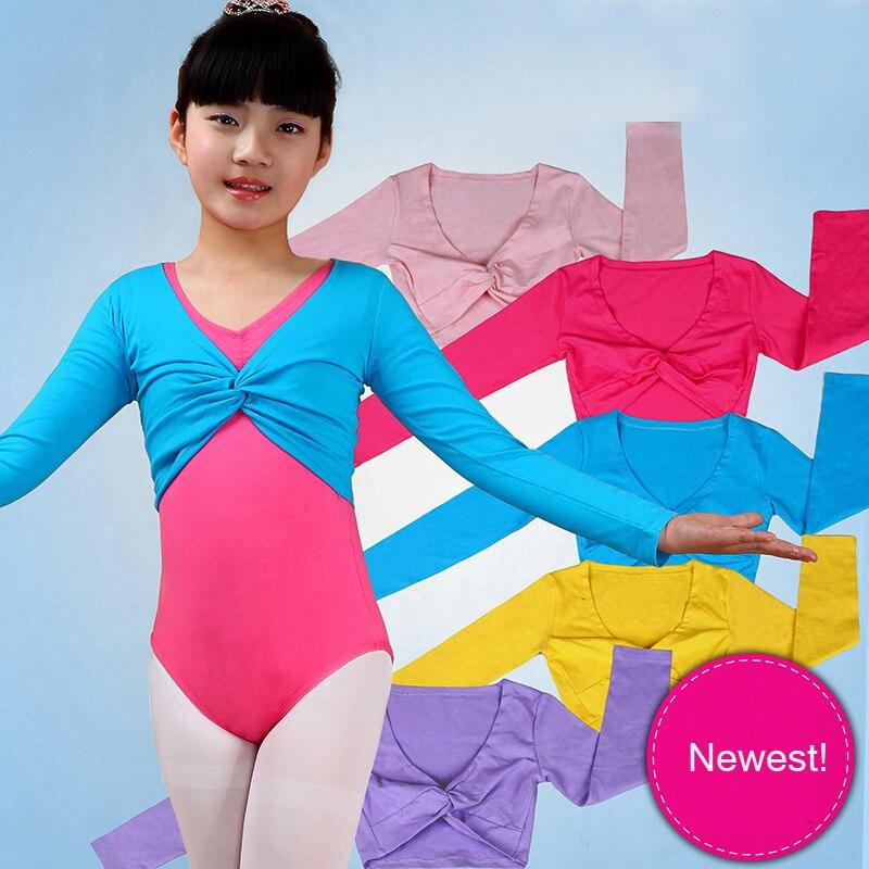 Балетная обертка с длинными рукавами для девочек, свитер на осень и зиму, Теплая Одежда для танцев, Kintwear, 7 размеров, 2019
