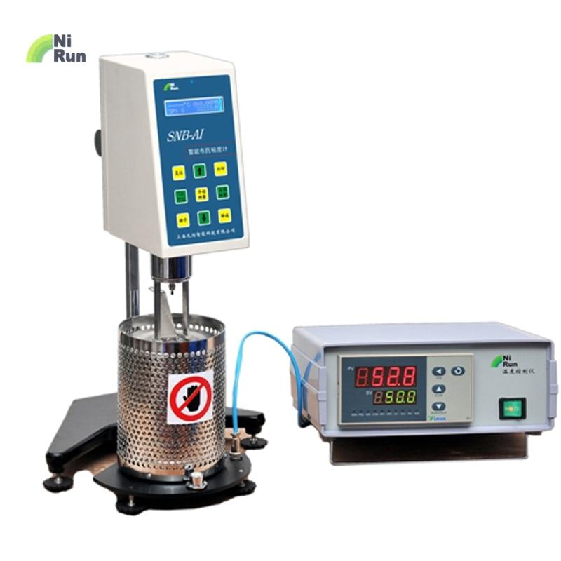 Marca NIRUN viscosímetro rotacional Digital de alta temperatura, adhesivos de fusión en caliente, material de fundición de asfalto