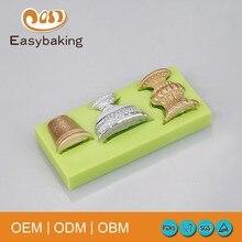 Personalizzato facile strumenti di cottura di cottura in vetro forma torta Fondente torta e muffa del cioccolato