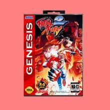 Fatal fury 2 16 Bit MD Game card with Retail Box For Sega Genesis & Mega Drive