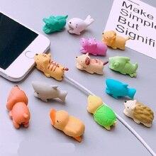 Câble de chargement USB étui pour Fundas Iphone XS Max XR 5 5S SE 7 8 6 S Plus pour Huawei P20 Lite Pro couverture câble protecteur ligne de données