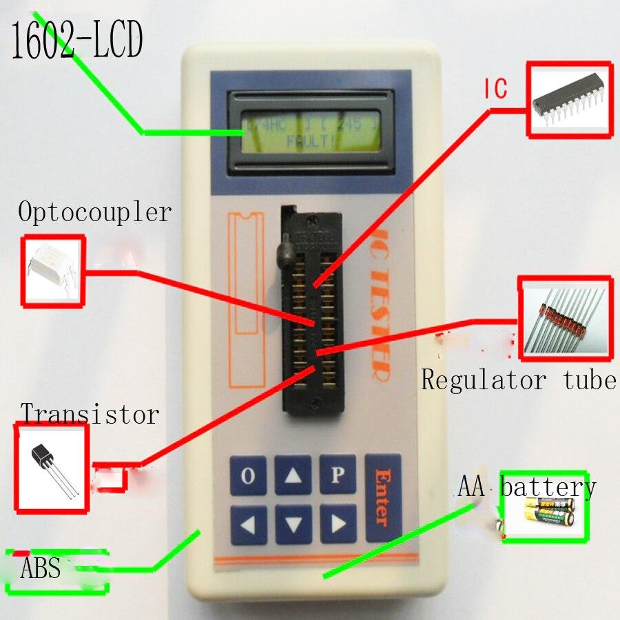 Тестер-транзистор IC для комплексной цепи, цифровой тестер-транзистор ic для обслуживания онлайн