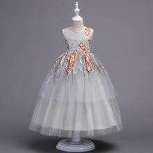 2018 Brand New Flower Girl Dresses  Real Party Pageant Communion Dress Little Girls Kids/Children Dress for Wedding