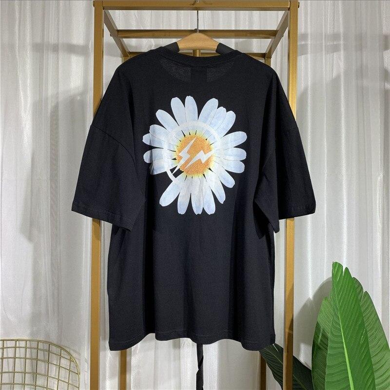 Camiseta Peaceminusone x fragmento Parka Bigbang g-dragon Strap camiseta Casual de verano