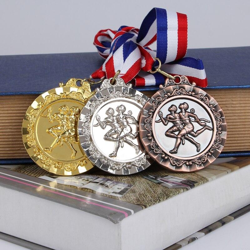 Maratona medalha pista e jogos de campo medalhas lembrança fãs liga de zinco oficial maratona corrida esporte jogo prêmio relé medalhas de corrida