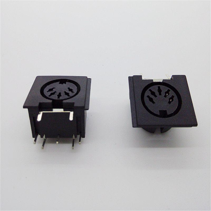 DIN5 10 pcs PCB Panel Mount MIDI Feminino DIN 5-Pin Jack D501