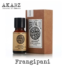 AKARZ العلامة التجارية الشهيرة الروائح الطبيعية فرانجيباني النفط الاسترخاء الافراج عن الحواس منع الجلد الجاف فرانجيباني زيت طبيعي