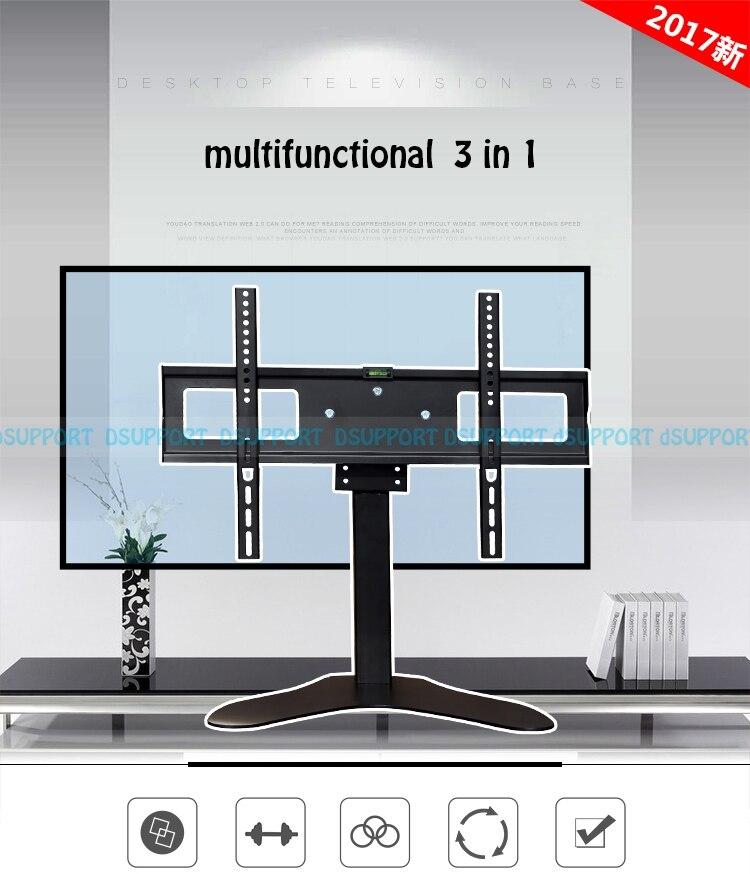 32-55 polegada LCD LED TV Mount Suporte max VESA 600x400mm Max. Carga de 50 kgs carrinho da TEVÊ monta