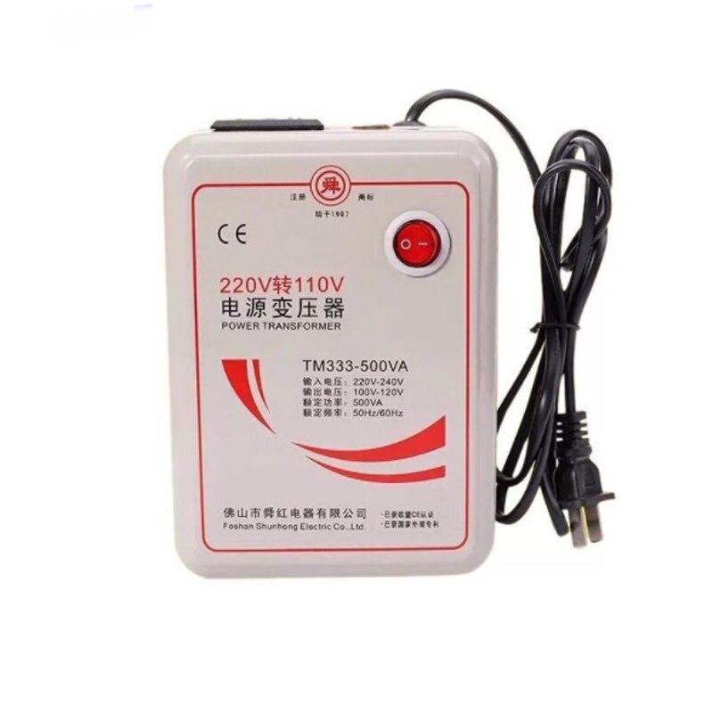 Transformador para AC220v AC110v/AC110 AC220V, 500 W Conversor de Voltagem