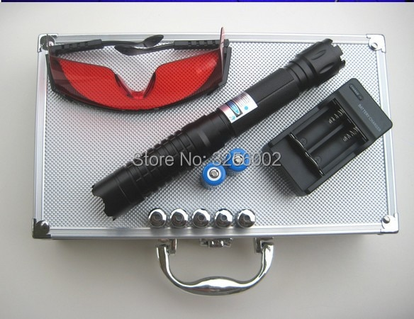 AAA 200000m 5 в 1, мощная лазерная указка, синий военный фонарик, поджигание, подсветка в форме свечи, нечестивый лазер, фонарик, 20 Вт + очки